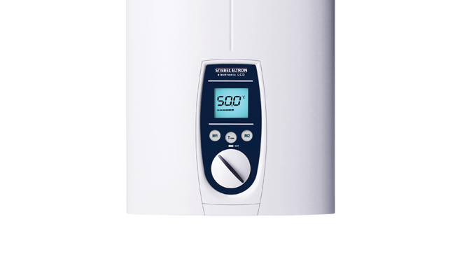 DEL three phase electric water heater