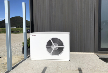 Queenstown air sourced heat pump